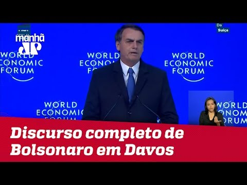 Confira o discurso completo de Jair Bolsonaro em Davos