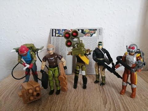 """Heti videó: 39# Vintage G.I.Joe - A """"tüzérek"""" 2.rész"""