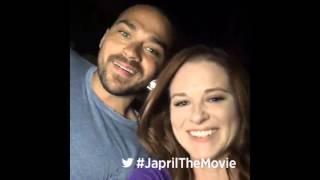 Sarah Drew & Jesse Williams - #AskJapril Twitter LIVE Tweet (16/02/25)