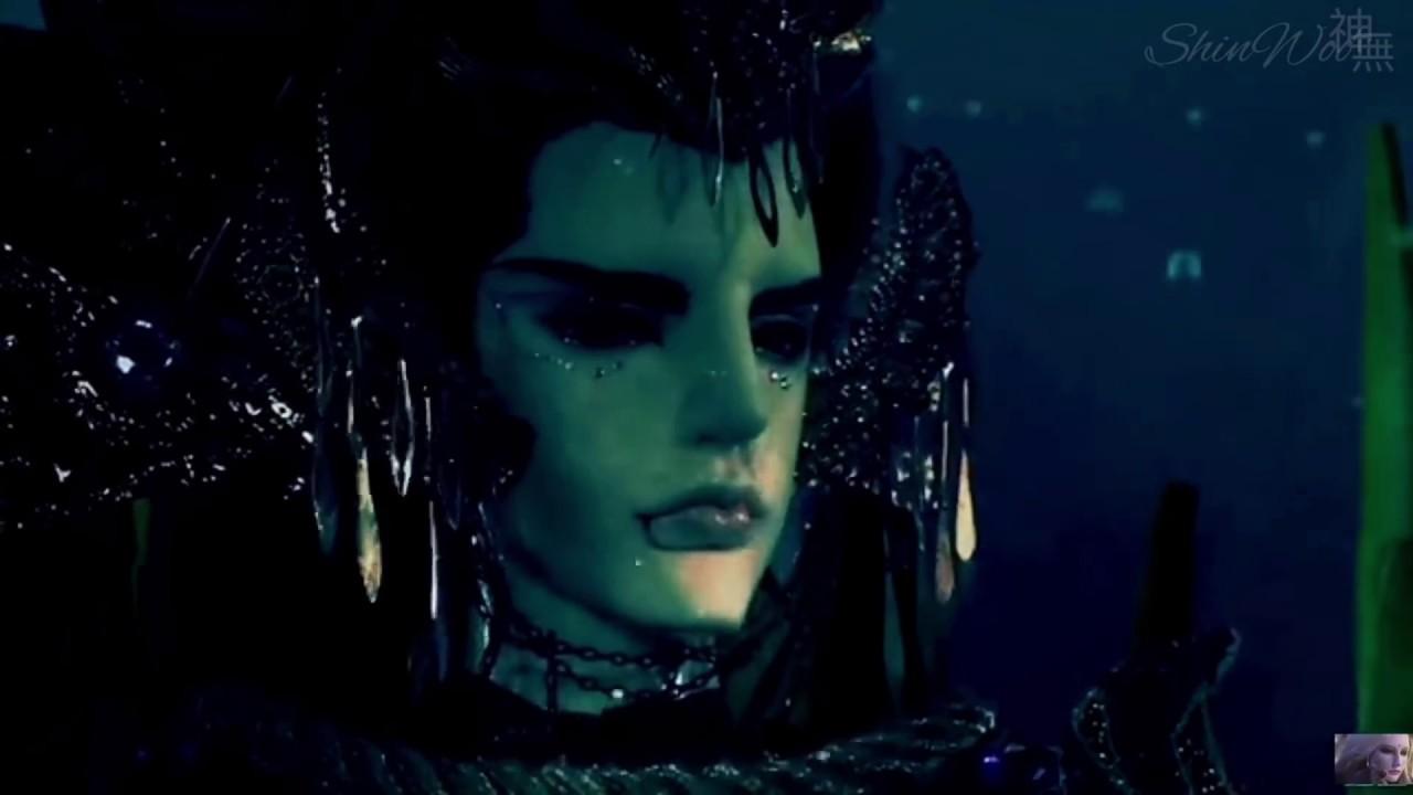 霹靂驚濤-地冥成為滄海淚鮫祭品之力 - YouTube