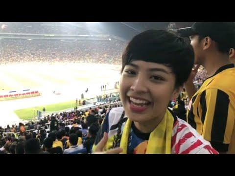 Janna Nick @ Malaysia vs Thailand, Stadium Shah Alam | Final Bolasepak Sukan Sea 2017