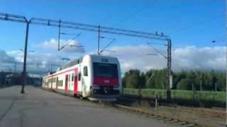 Sm4 departs from Riihimäki, Finland - Tåg / Train / Juna