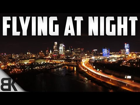Tips for Flying Your Drone at Night