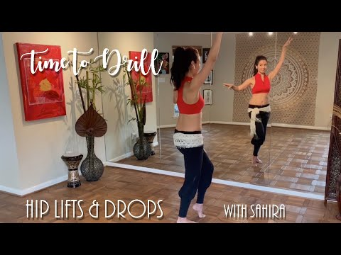 Belly Dance Lessons | Killer Hip Lift and Drop Drill
