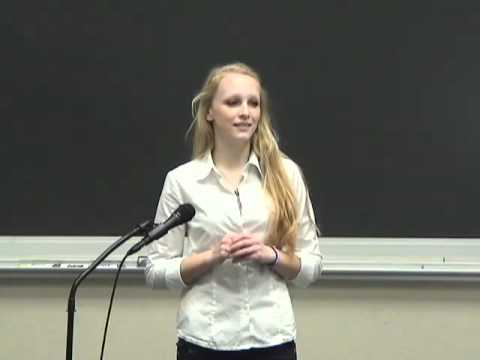 Sample Student Speech