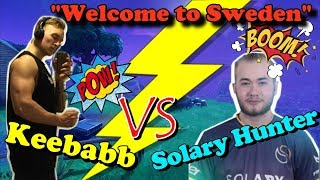 Solary Hunter Gets Killed By a Unkown Streamer   Fortnite Battle Royale Gameplay - Keebabb