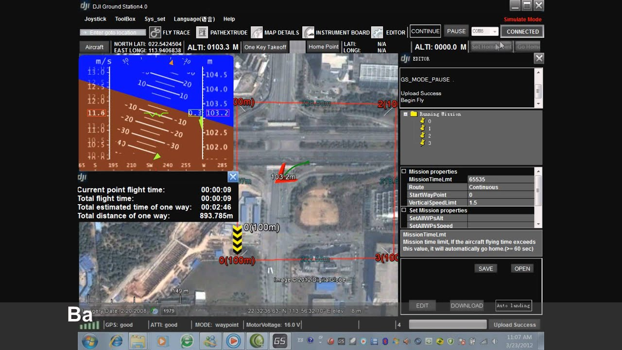 DJI Ace One Single Waypoint Ace J&K to C&G ( Function activation cost )  Industrial Helicopter Autopilot System