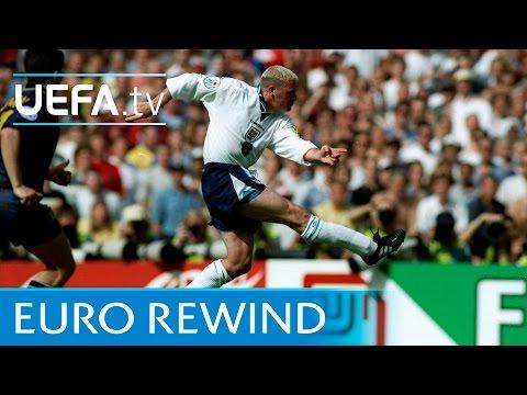 EURO 96' highlights: England 2-0 Scotland