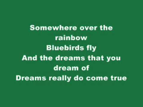 Jason Castro - Somewhere over the rainbow with lyrics