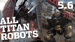 🔴 War Robots - All Titan Robots (Kid, Arthur, Ao Ming) - New Update 5.6 | WR Live Stream Gameplay
