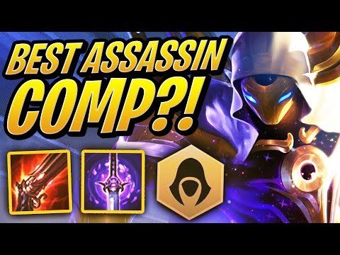 The BEST ASSASSIN Comp In TFT! | Teamfight Tactics | League of Legends Auto Chess