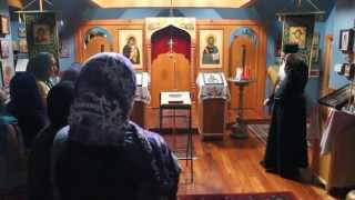 All-Merciful Saviour Monastery - Call to Church and Weeping Icons - All-Saints Camp 2013