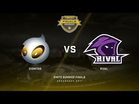 SPL Summer Finals Day 3 Finals Team Dignitas vs Team Rival Game 3