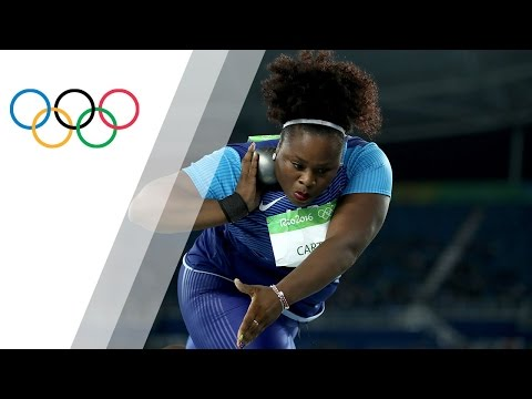 USA's Carter out-throws for Shot Put gold