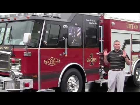 Oxford Fire Department's new E-ONE e-MAX Rescue Pumper by Sunbelt Fire
