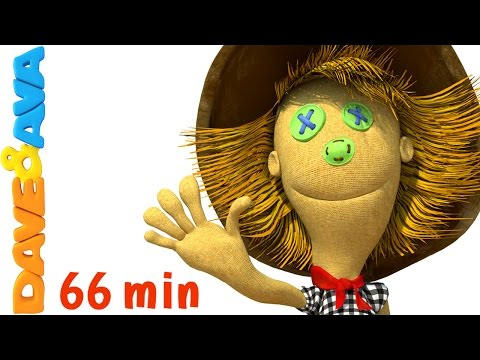 🌈 Head Shoulders Knees and Toes   3D Rhymes for Kids and Baby Songs from Dave and Ava 🌈