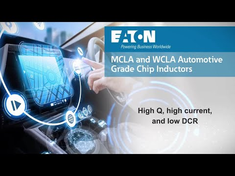 MCLA and WCLA Automotive-Grade Chip Inductors