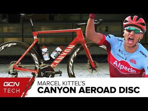 Marcel Kittel's Canyon Aeroad CF SLX Disc