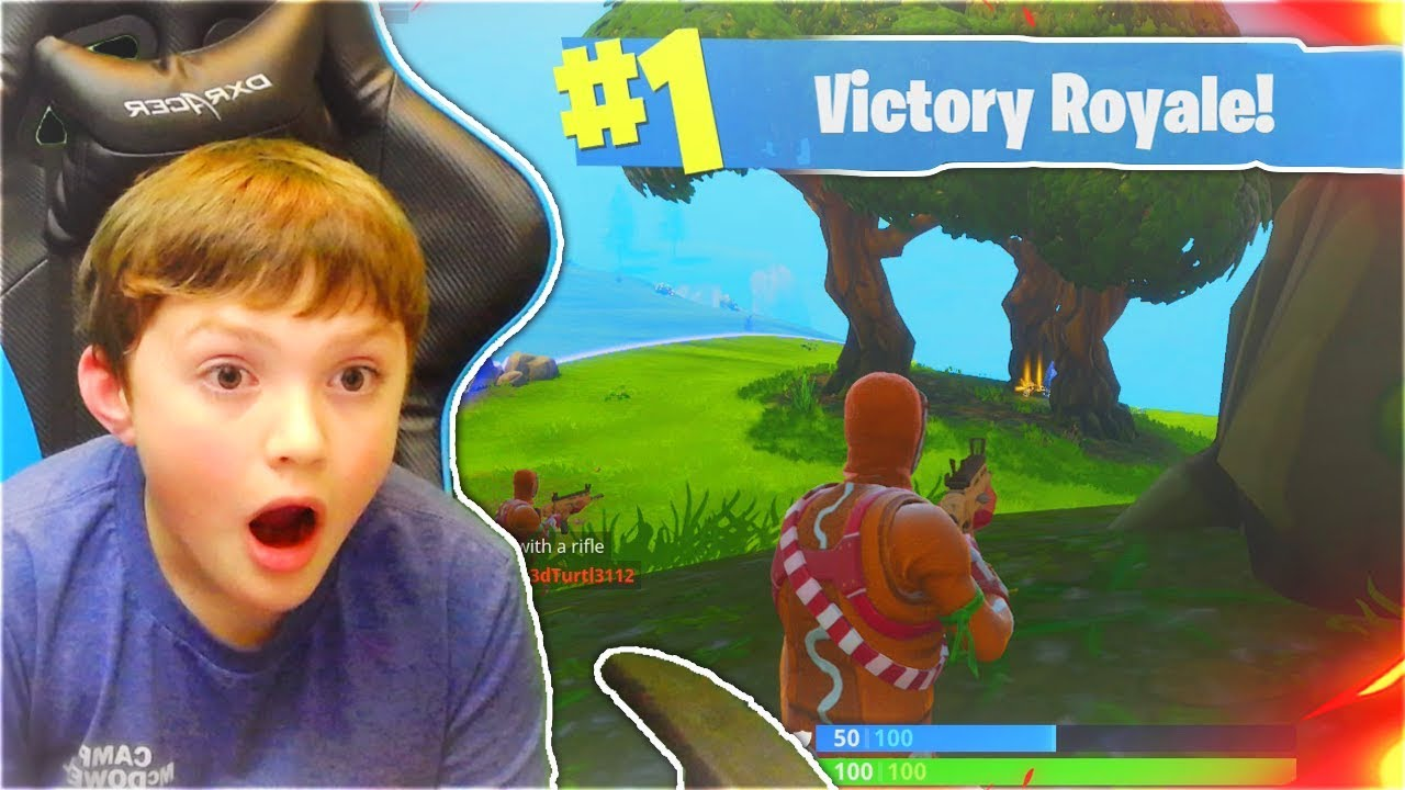 MY LITTLE BROTHER REACTS TO HIS FIRST DUOS WIN