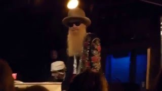 Billy Gibbons & The BFG's---Belly Up---12 7 15---Honey Don't Let Me Go