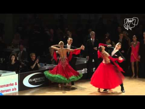 Rossignoli - Styf, FIN | 2015 PD European Standard R2 Q | DanceSport Total