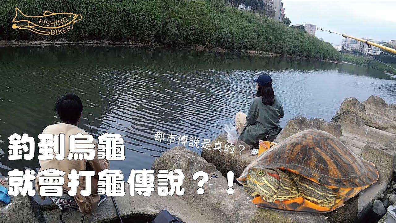 【城市釣遊】釣到烏龜就會打龜傳說?! 景美溪| FISHING BIKER 釣魚頻道 - YouTube