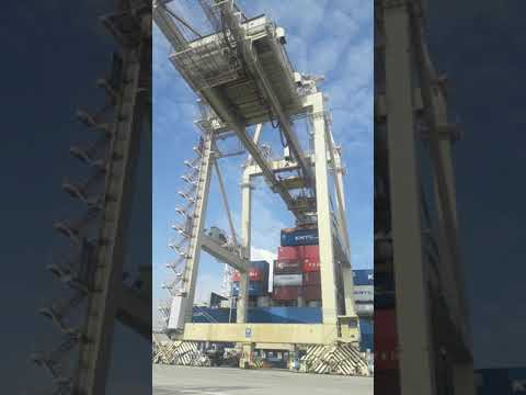 Overhead crane Penang port malaysia