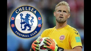 KASPER SCHMEICHEL ● THE SPIDER ● Welcome To Chelsea ● Best Saves WC 2018 HD