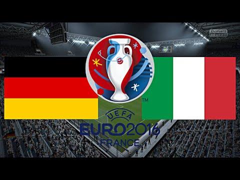 Em 16 Deutschland Italien