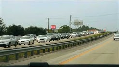 Heavy Traffic on I-95 North in Jacksonville, FL