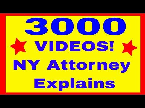 NY Medical Malpractice Lawyer Creates 3000 VIDEOS! Attorney Gerry Oginski Explains