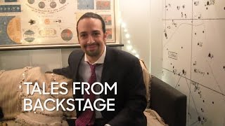 Tales from Backstage: Lin-Manuel Miranda