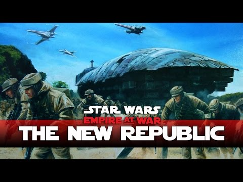 New Republic - PLANETARY INVASION  Thrawns Revenge - Ep2- (Star Wars RTS Lets Play)