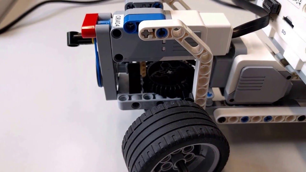 Ev3 Ackerman Steering And Differential Youtube