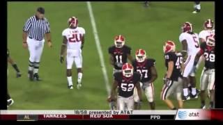 2008 #8 Alabama vs. #3 Georgia Highlights