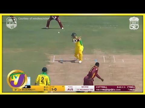 Windies Defeat Australia to Level Series - July 25 2021