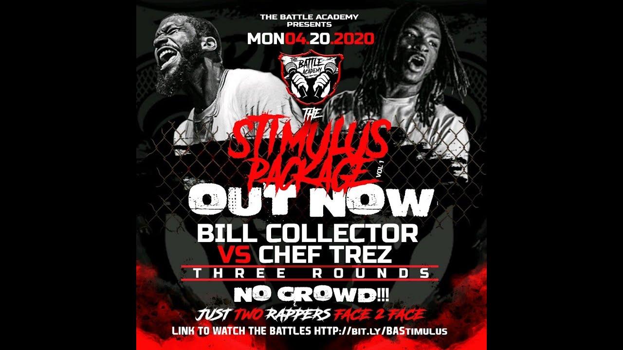 BILL COLLECTOR VS CHEF TREZ (BATTLE)