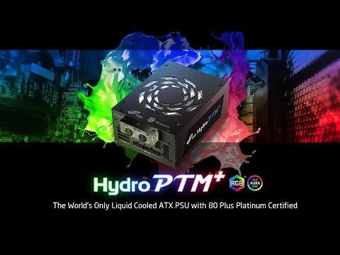 HYDRO PTM+ 1200W Liquid Cooled ATX PSU with 80 Plus Platinum