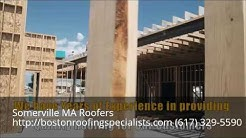 Traditional Tile Roofing Installation Somerville MA