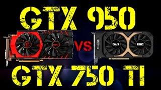 GTX 950 VS GTX 750 Ti(GTX 950 VS GTX 750 Ti. CPU: AMD FX 6100 4.5GHz. MOTHERBOARD: MSI 970 GAMING RAM: MUSHKIN 8Gb 1866MHz SSD/HDD: 240Gb/500Gb OS: ..., 2016-04-14T06:45:13.000Z)