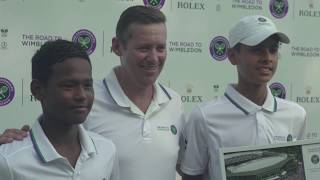 Road to Wimbledon India: Boys finalists filled with joy
