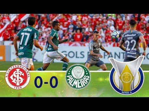 Melhores momentos - Internacional 0 x 0 Palmeiras - Campeonato Brasileiro (26/08/2018)