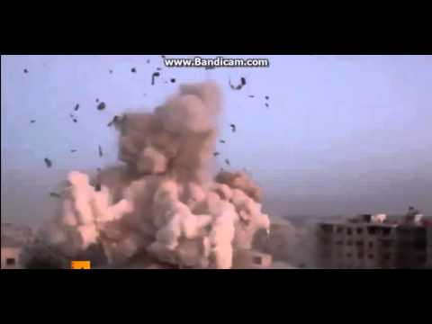 Russia Attacks ISIS in Syria (REAL FOOTAGE)