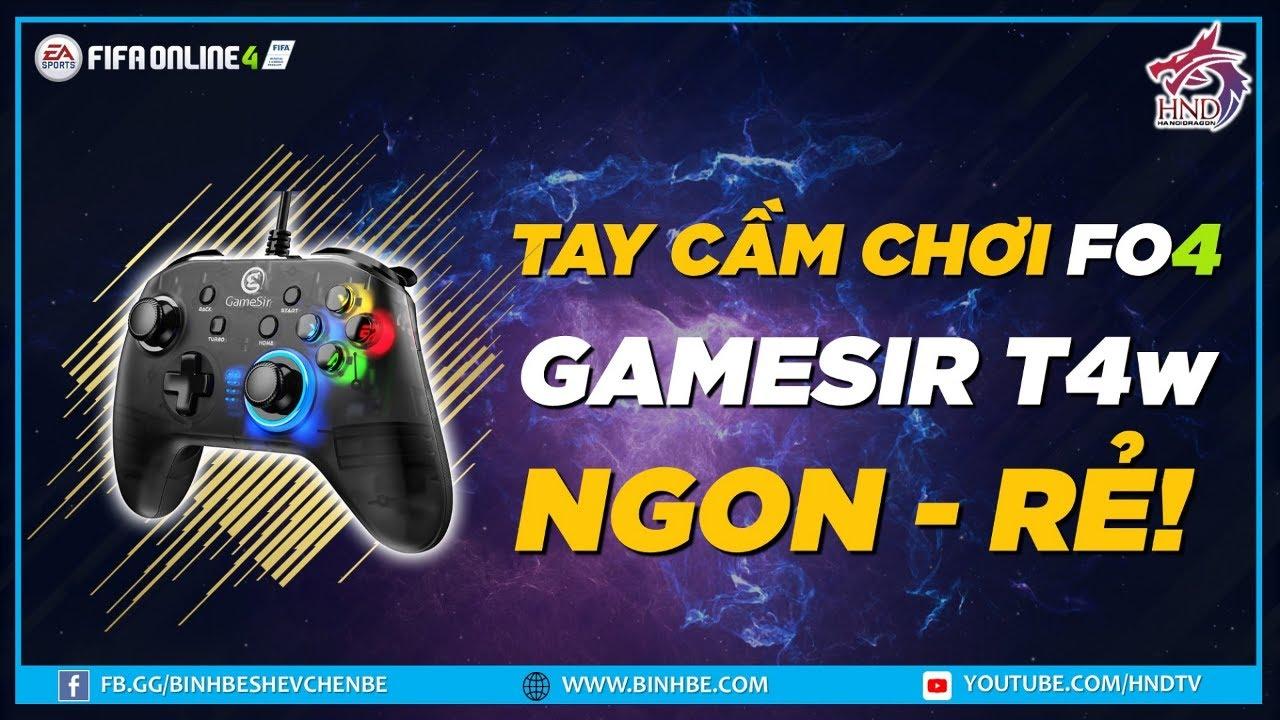 FIFA Online 4   Tay cầm chơi game ( gamepad ) Gamesir T4w rẻ ngon