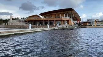 Saana Sauna - Spa - Restaurant - Lunch - Bar 🥂 Kallavesi Lake - Finnish Lakeland - Kuopio Finland