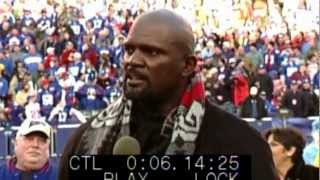 Lawrence Taylor Halftime Ceremony, Joe Schilp, PA Announcer