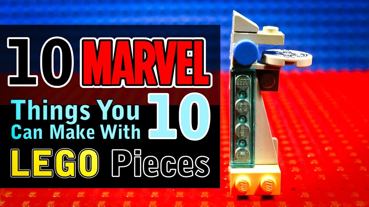 10 Marvel Avengers Things You Can Make With 10 Lego Pieces