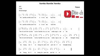 Lagu Tematik  - Yamko Rambe Yamko  - Kelas 4