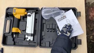 Обзор пневматического гвоздескобозабивного пистолета Inforce NC15/50 01-15-01