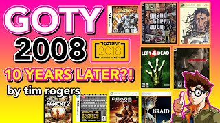 The Best Games Of 2008: Ten Years Later
